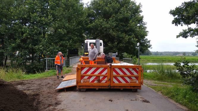 Overstromingsgebied rond Roerdompstraat preventief afgesloten