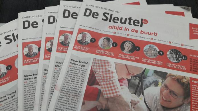 Huis-aan-huiskrant De Sleutel.