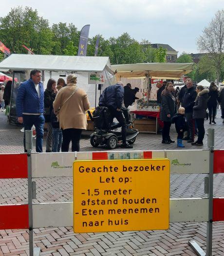 Gigadrukte blijft in Deventer binnenstad uit op eerste zaterdag met versoepelingen
