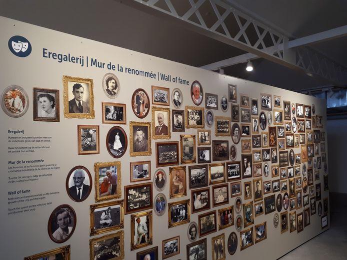 Een eregalerij met familieportretten in het Izegemse stadsmuseum Eperon d'Or.