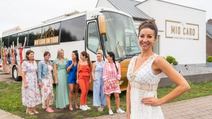 "Romy van The Sky is the Limit met Mio Caro Fashionbus door Vlaanderen: ""Hier droomden we al langer van"""