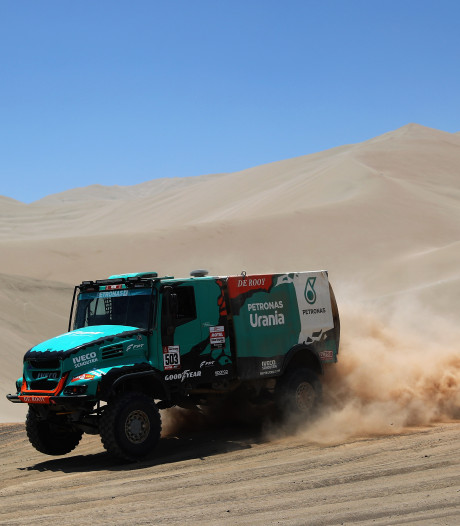 De Rooy wederom de beste in Dakar Rally