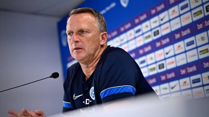 Coach John Van den Brom,  Racing Genk én de fans ontvangen KV Oostende