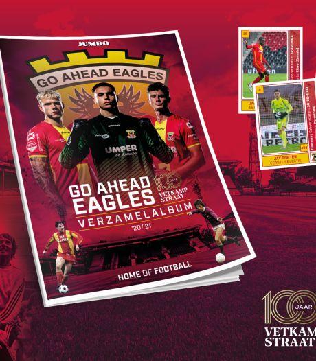 Go Ahead Eagles lanceert eigen voetbalplaatjesalbum in aanloop naar jubileumfeest