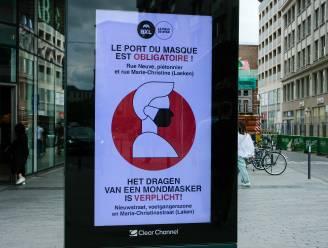 Elsene en Etterbeek bannen mondmaskers, in Brussel blijft verplichting enkel in Nieuwstraat en op markten overeind