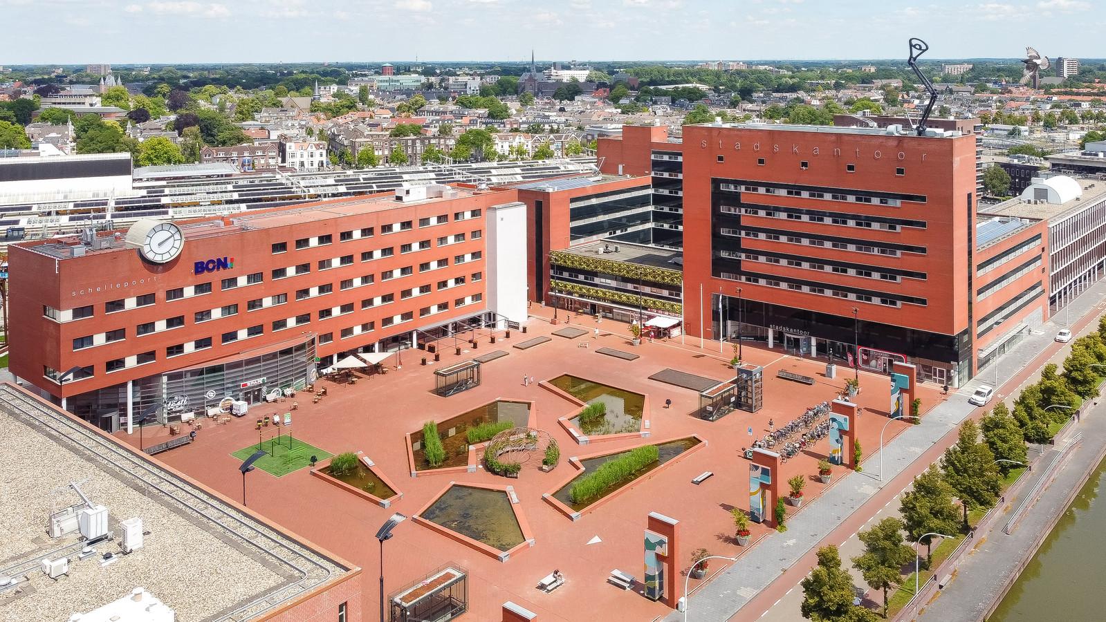 De demonstratie is verplaatst naar het Lübeckplein in Zwolle.