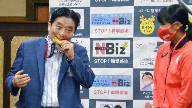 Softbalster Japan krijgt nieuwe plak na beet burgemeester in medaille