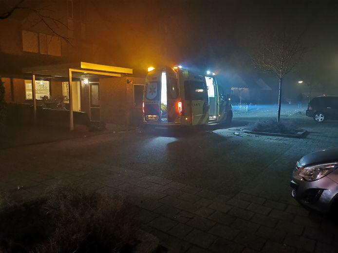 Een gewonde door vuurwerk in Veenendaal.