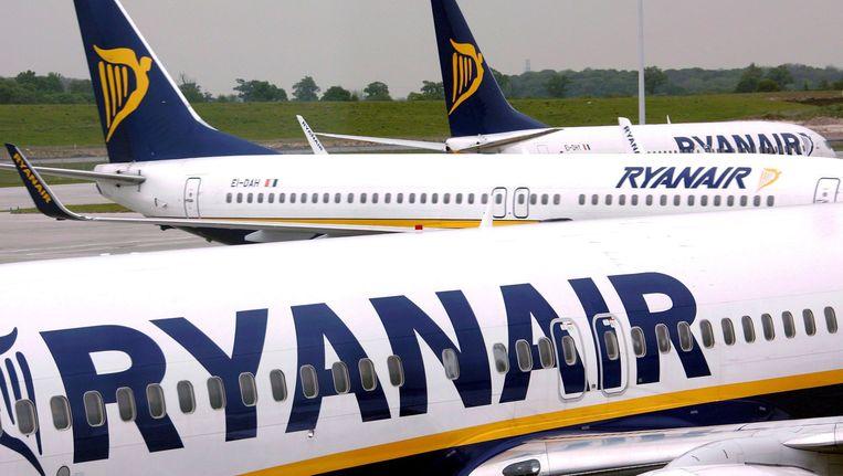 Ryan Air zou gebruik maken van de zogenaamde zzp-piloten. Beeld epa