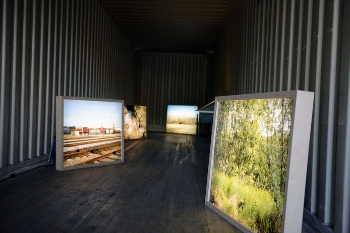 Experimentele kunstroute in Leuven.