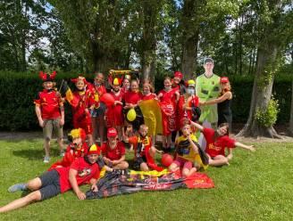 EK-gekte slaat toe op Evergemse scholen: zelfs Thibault Courtois 'op bezoek'