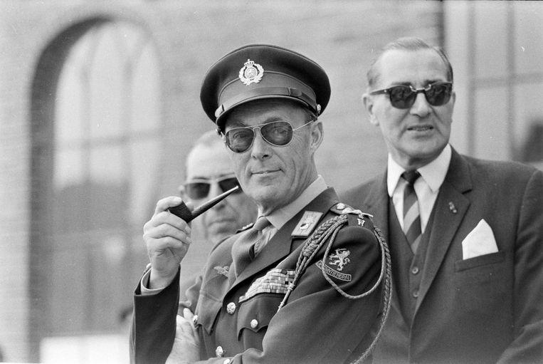 Prins Bernhard in 1968. Beeld anp