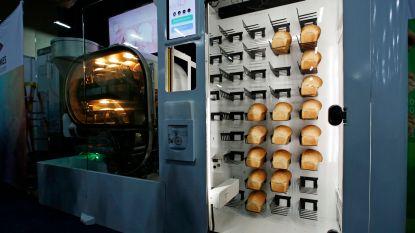 Bakt deze robot straks ons brood in de supermarkt?