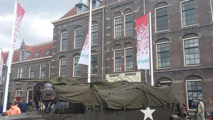 Het Vrijheidsfestival op de Johan Willem Frisokazerne in Ede. In de Kazernewijk worden diverse straatnamen genoemd naar verzetsmensen.