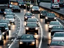 Weg weer vrij na ongeval op A15 richting Gorinchem