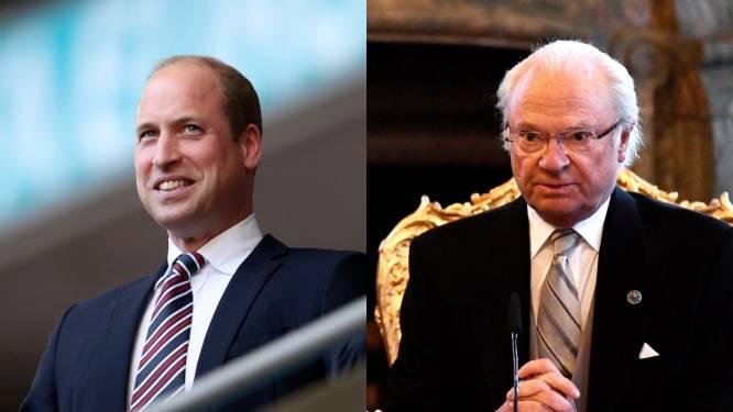 ROYAL BITS. Britse royals klaar voor finale EK en Zweedse royals breken vakantie af door crisis