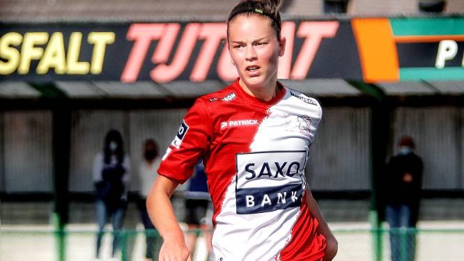 """Charlotte Laridon en Zulte Waregem blijven met maximum mee op kop: """"We zijn geen ploeg met topspeelsters, wel een team met veel mentaliteit"""""""