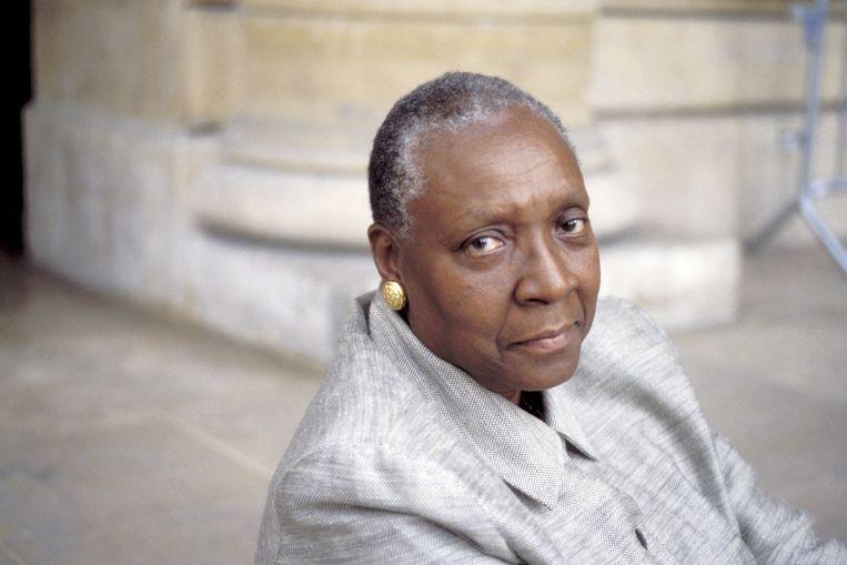 Maryse Condé. Beeld BELGAIMAGE
