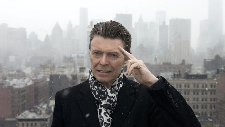 Bowie lijkt zich op 'Blackstar' te willen meten met Kendrick Lamar Beeld Jimmy King