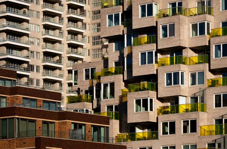 Luxe appartementen op de Zuidas. Beeld Jan Boeve/Hollandse Hoogte