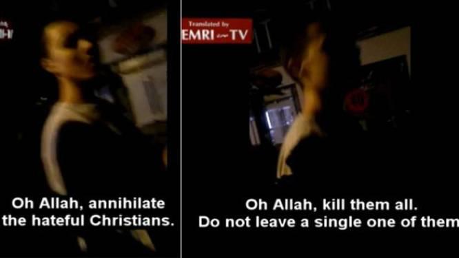 Jongen roept in centrum van Verviers op om alle christenen te doden