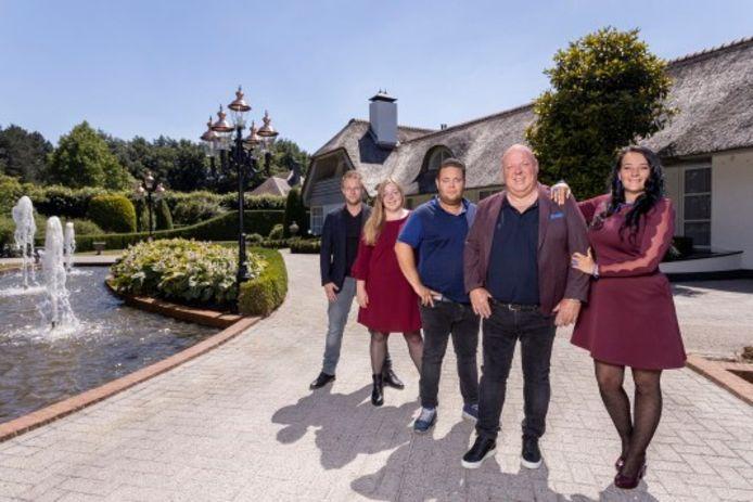 De familie Gillis, om wie een nieuw realityprogramma is gebouwd