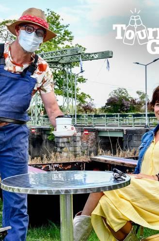 """Een goed glas op het terras met Evy Gruyaert: """"Door corona is het leven veel rustiger en dat bevalt me"""""""