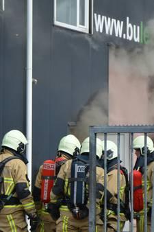 Fikse brand bij bedrijf in Borne