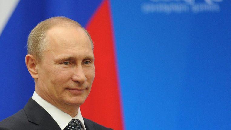 Russisch president Vladimir Poetin. Beeld EPA