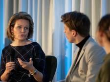 Koningin Mathilde bezoekt Antwerp Management School