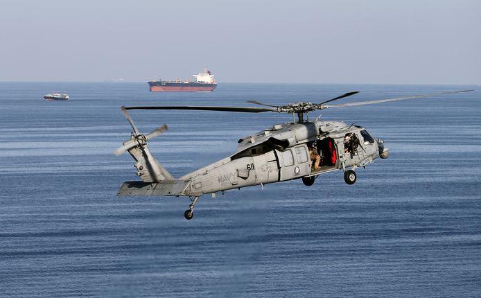 Een MH-60S-toestel.