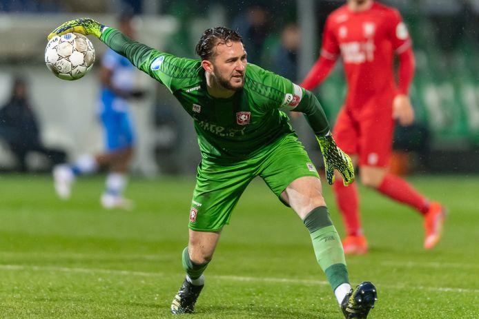 Joël Drommel is bezig aan zijn laatste serie duels voor FC Twente.