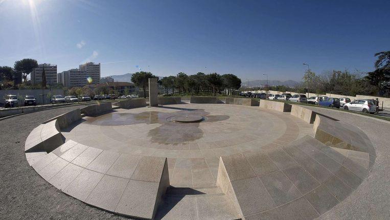 Het herdenkingsmonument voor de Armeense genocide in Marseille. Beeld afp