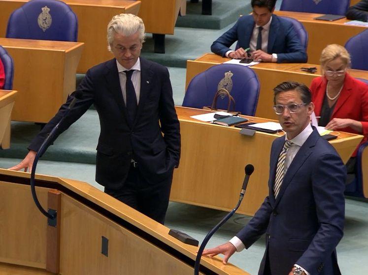 Wilders en Eerdmans boos op Rutte over aanwijzen van informateur