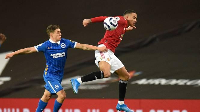 Greenwood bezorgt Man United in het slot de volle buit tegen Brighton en Trossard