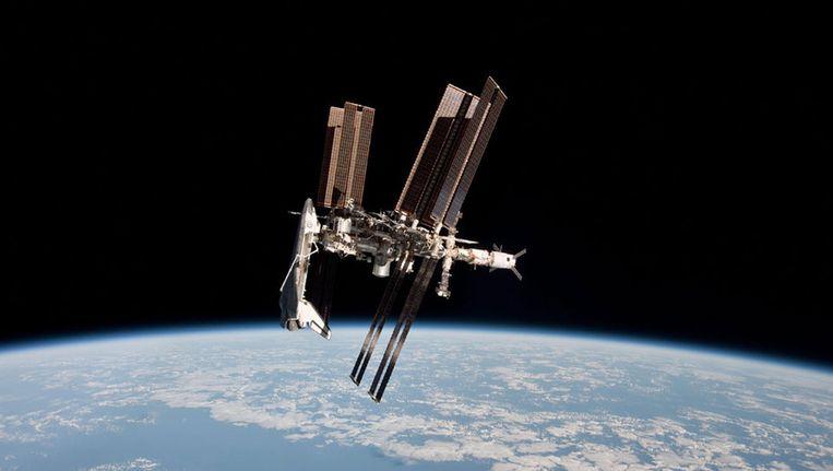ISS. Beeld ANP