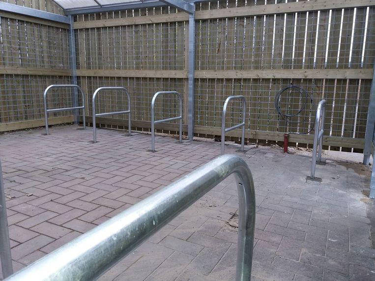 De nieuwe buurtstalling voor fietsen is vanaf januari klaar voor gebruik