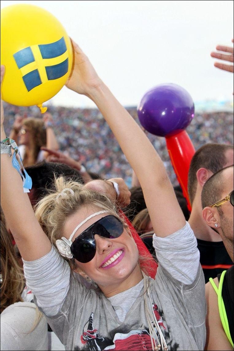 Ook op Tomorrowland 2011 was Swedish House Mafia ongelofelijk goed. Beeld UNKNOWN