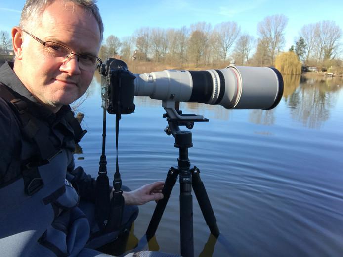 Natuurfotograaf Johan Scholtens.