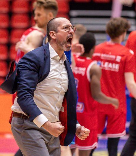 Heroes Den Bosch gaat niet verder met coach Jean-Marc Jaumin