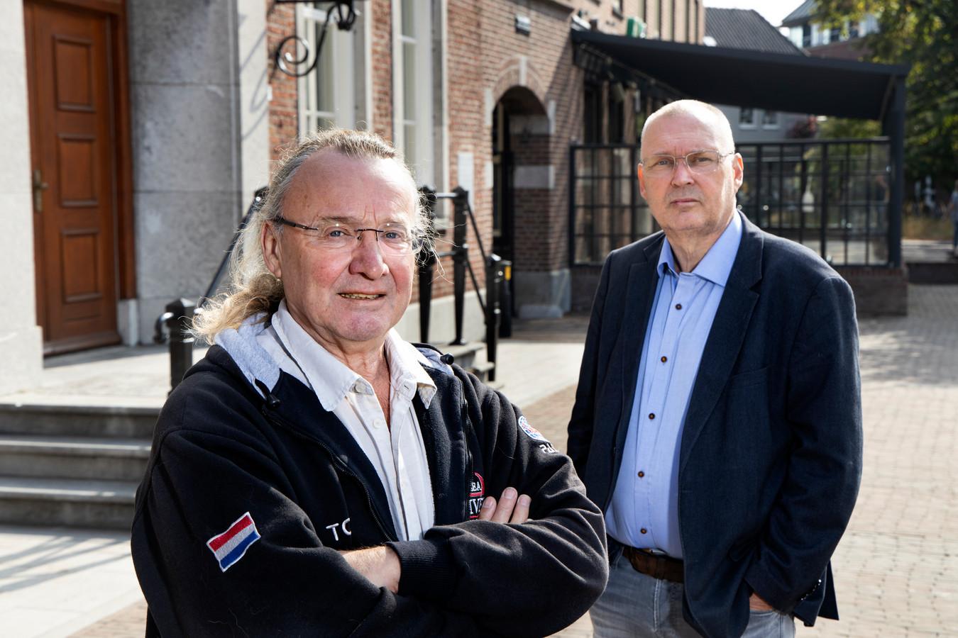 Ton van Egmond (l) en Jan Vroomans.