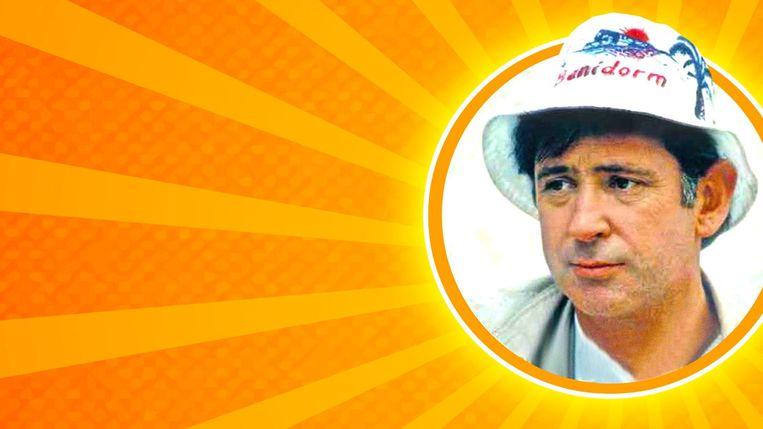 Johny Voners speelt een van de hoofdrollen in 'Benidorm'. Beeld VTM
