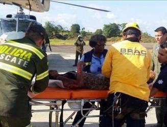Jonge moeder met baby 5 dagen na vliegtuigcrash gered in jungle