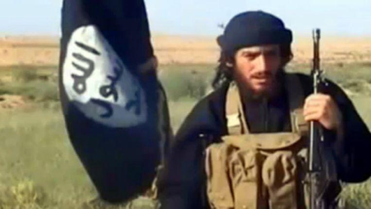 Abu Muhammad al-Adnani, hoofd van de 'buitenlandse operaties' van IS, riep vroeger al op tot individuele aanslagen. Beeld kos