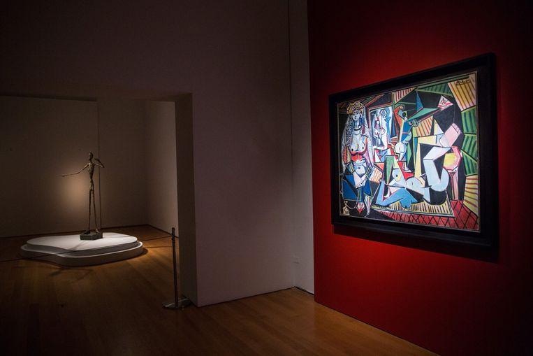 Picasso's 'Femmes d'Alger'. Beeld AFP