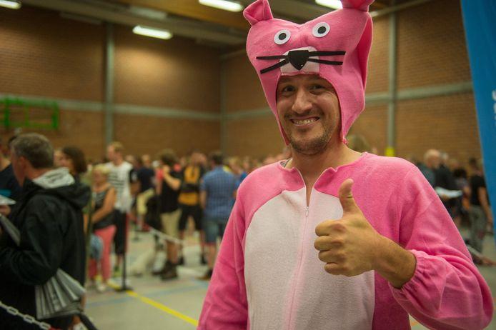 Dit jaar neemt ook The Pink Panther deel aan de Dodentocht