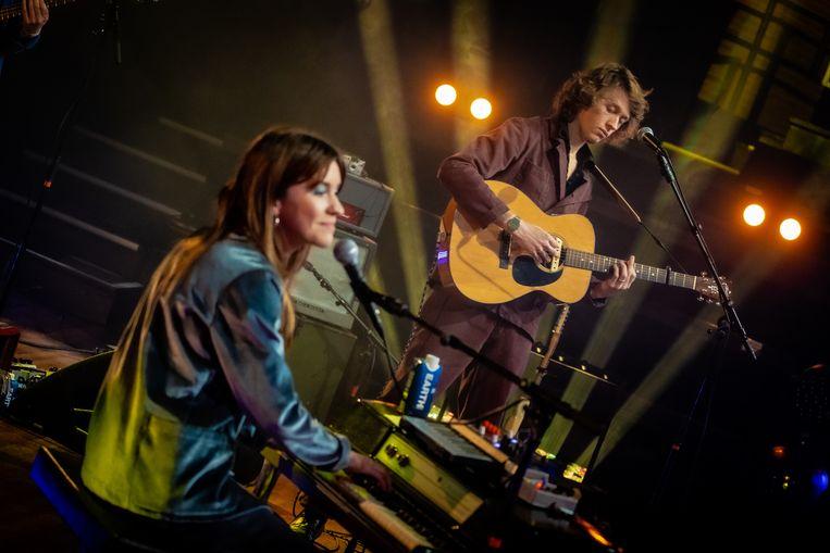 Sam & Julia tijdens Noorderslag 2021 Beeld Ben Houdijk