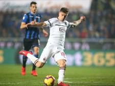 Wereldgoal Piatek helpt AC Milan langs Atalanta van Hateboer en De Roon
