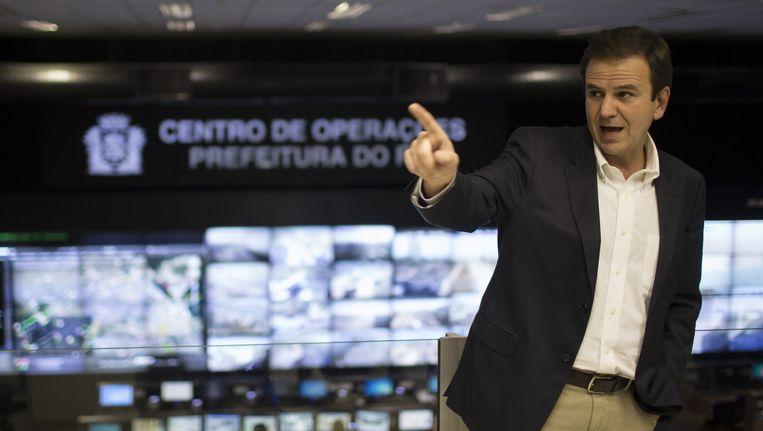 Eduardo Paes, burgemeester van Rio de Janeiro Beeld ap