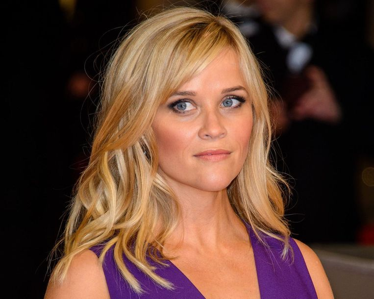 De knappe blondine Reese Witherspoon.